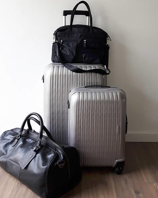 De ideale reistas/koffer voor elke gelegenheid. Morgen op de blog! #samsonite #chesterfield #nevernottraveling #travelblogger #citytrip