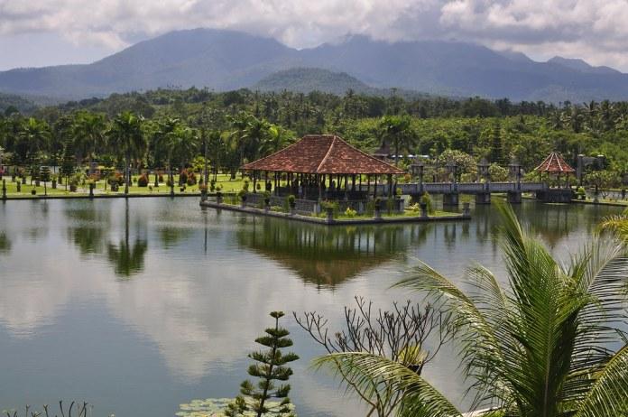 Image result for taman ujung water palace bali