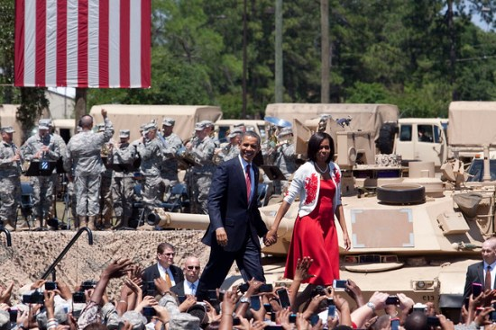 Presidential visit to Fort Stewart