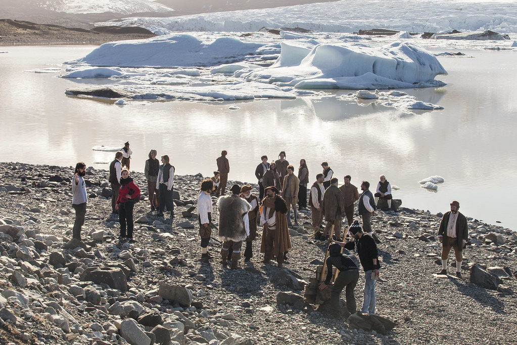 Baskavígin, un rodaje entre glaciares