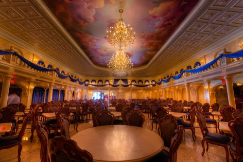 Magic Kingdom - Be Our Guest Ballroom