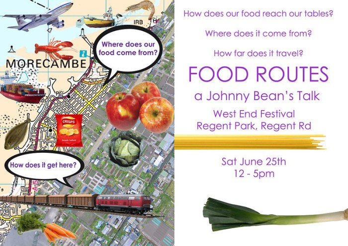 food routes talk poster