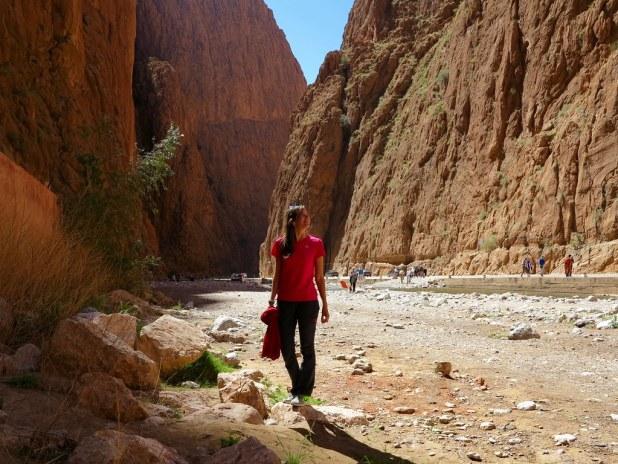 Garganta de Todra, Marruecos