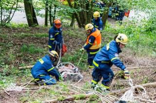"""Katastrophenschutzübung """"Waldbrand"""" Idstein 18.06.16"""