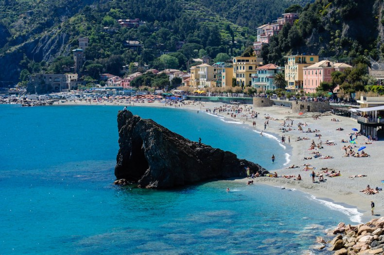 Monterosso beach