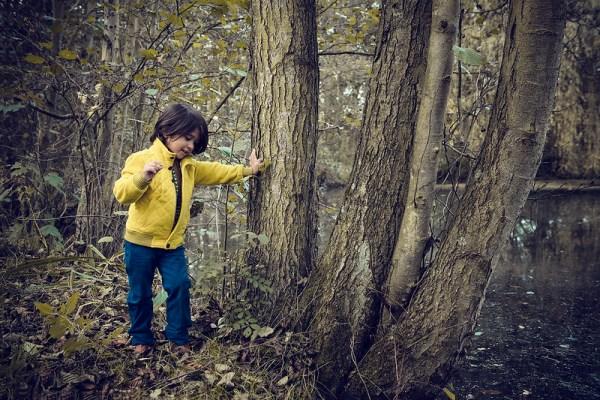 toddler nature