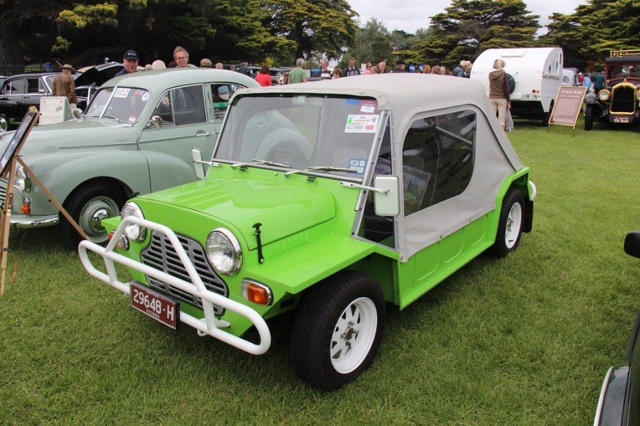 1964 austin cars » 1978 Leyland Mini Moke   Morris merged with Austin in 1952 t      Flickr     1978 Leyland Mini Moke   by Sicnag