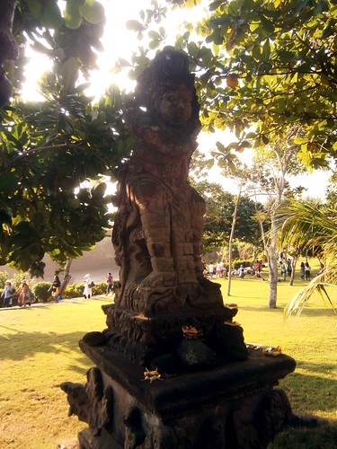 Statue at Pura Batu Bolong Bali