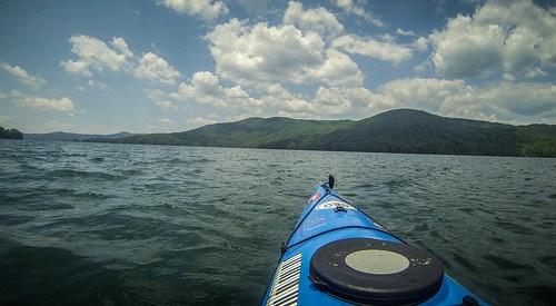 Lake Jocassee Kayaking-86