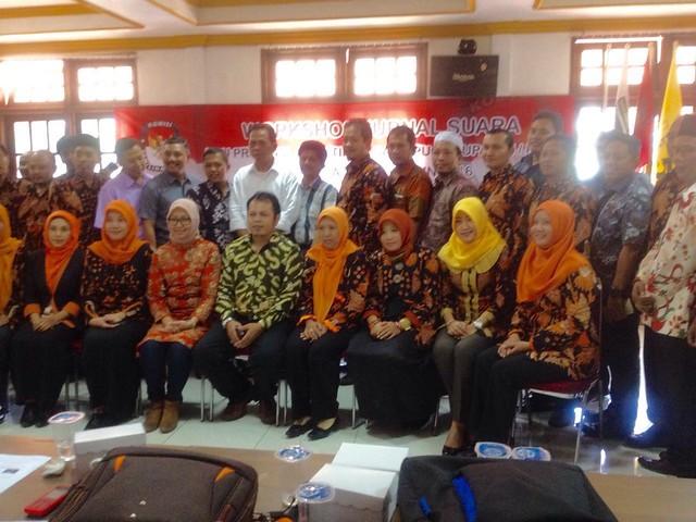 Peserta Workshop, Komisioner KPU Kabupaten/Kota se-Jatim (28/5)