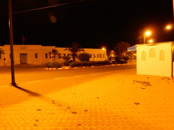 Sidi Ifni by night