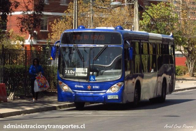 Transantiago - 210 | Subus Chile | Marcopolo Gran Viale - Volvo B7R LE / BJFG99 - 7228