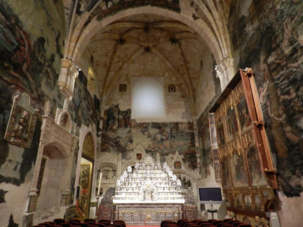 Retablo de Plateria Capilla San Ildelfonso Catedral San Salvador Zamora 01