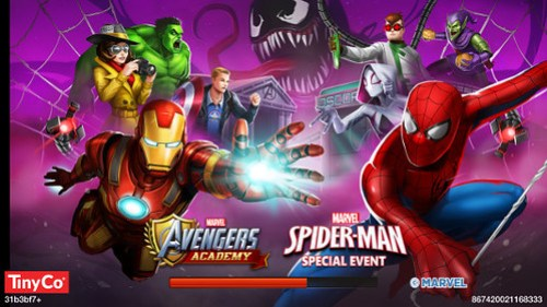 Android Avengers Academy Spider-Man