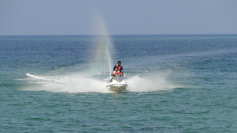Port Blair - Water scooter ride