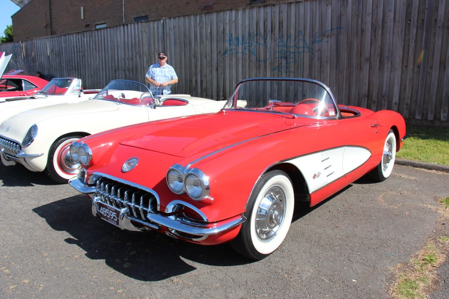 1953 chevrolet cars » 1958 Chevrolet C1 Corvette Roadster   Signet Red  The Chevro      Flickr     1958 Chevrolet C1 Corvette Roadster   by Sicnag
