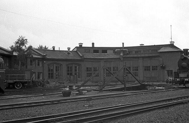 Локомотивное депо 1991-02