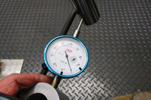 Measuring Fork Tube Separation