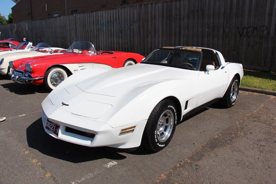 1953 chevrolet cars » 1981 Chevrolet C3 Corvette T Top   Classic White  The Chevro      Flickr     1981 Chevrolet C3 Corvette T Top   by Sicnag