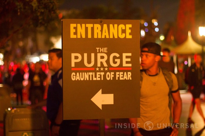 The Purge: Election Year (2016) – Halloween Horror Nights at Universal Studios Hollywood