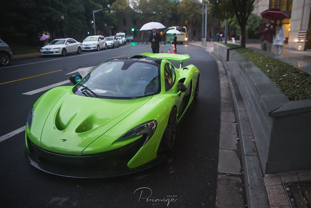 4 McLaren P1 in Shanghai, China