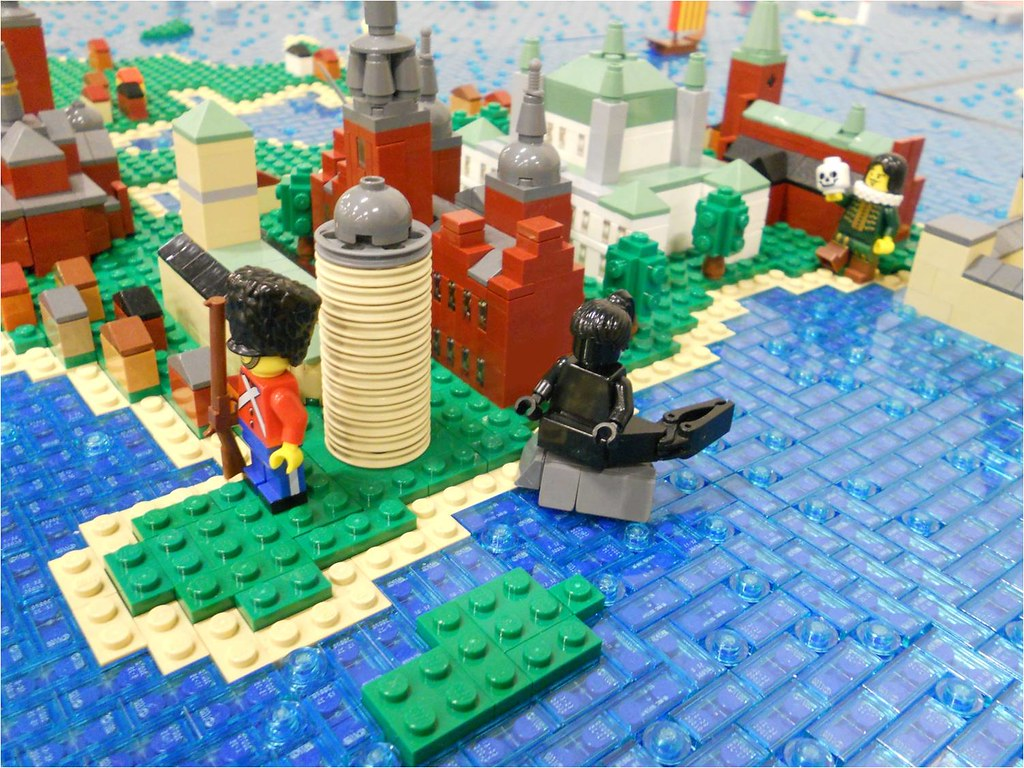 LEGO Map of Denmark   Copenhagen is the largest city and the      Flickr     LEGO Map of Denmark   by Lasse Vesterg    rd