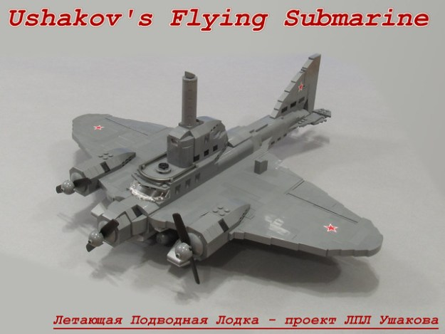 01 Ushakov's Flying Submarine