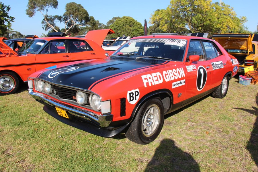 1972 ford cars » 1972 Ford XA Falcon GTHO Race car Tribute   Brambles Red The      Flickr     1972 Ford XA Falcon GTHO Race car Tribute   by Sicnag