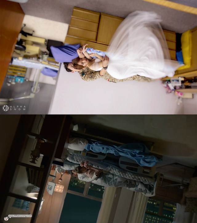 Song Jong Ki Song Hye ko Descendants of the Sun Ep14 Bed Scene