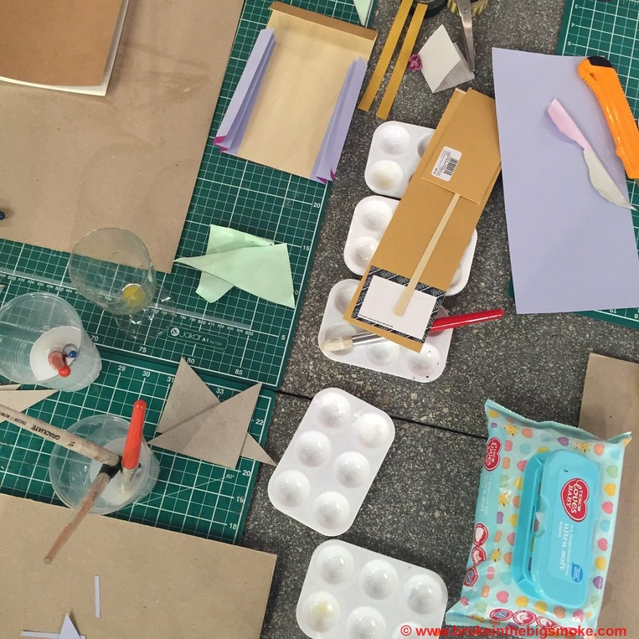 Paperchase Project craft making a mess