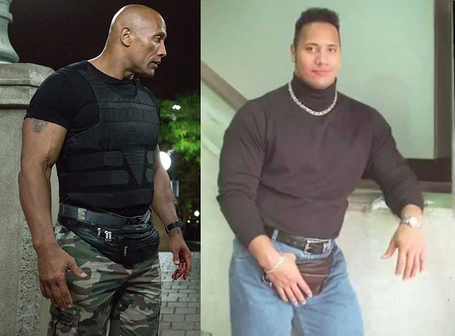 Dwayne Johnson 1990s