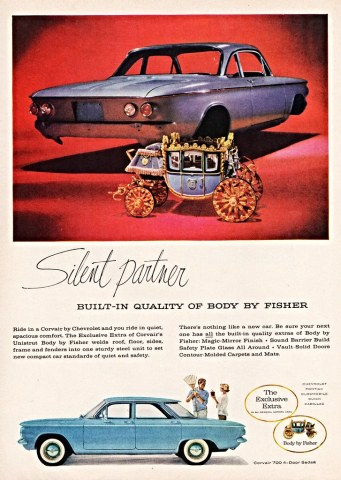 1960 chevrolet cars » 1960 Chevrolet Corvair 700 4 Door Sedan with Body by Fishe      Flickr     1960 Chevrolet Corvair 700 4 Door Sedan with Body by Fisher   by  aldenjewell