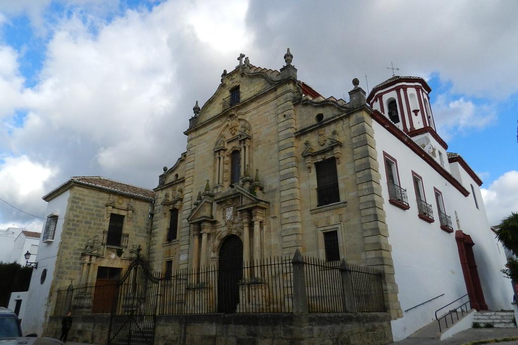 fachada Iglesia de Santa Cecilia Ronda Malaga 02