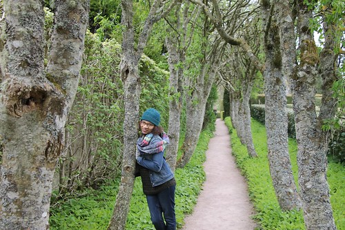 Grounds at Cawdor Castle and me!