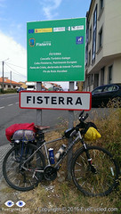Arrival in Fisterra