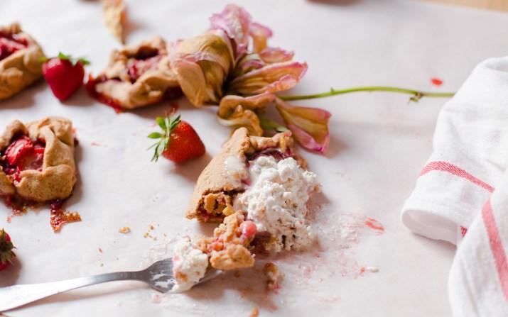 Mini Strawberry Galette