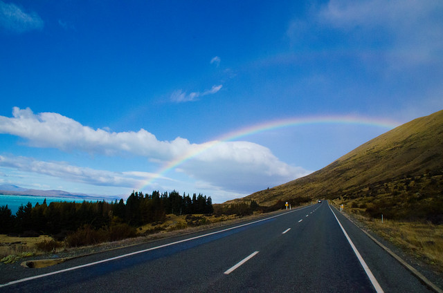 Double Rainbow, Lake Pukaki