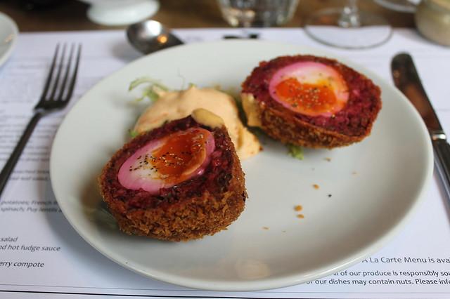 Comer en Edimburgo
