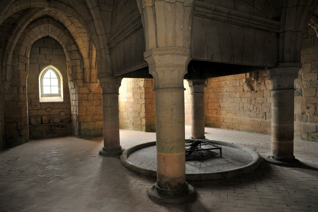 Chauffoir De L Abbaye De Longpont Aisne Ce Chauffoir Xi Flickr