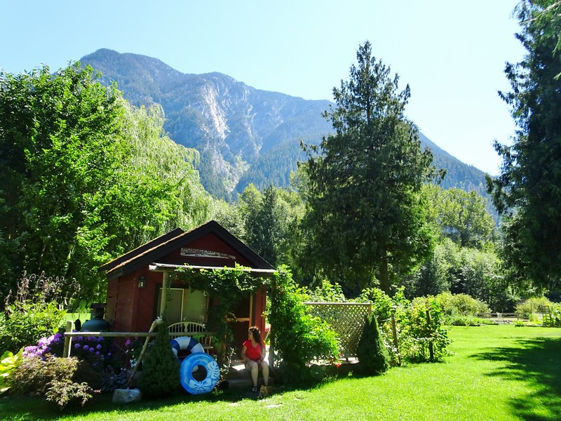 mountain cabin in Pemberton, British Columbia - the tea break project solo travel blog