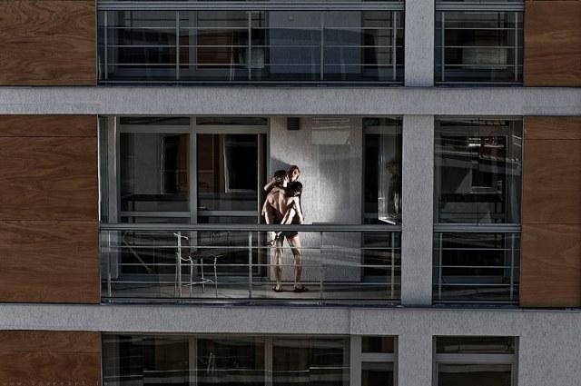 Sex On Balcony By Zavadskis