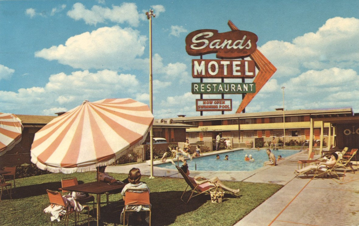 Sands Motel and Restaurant - Dallas, Texas U.S.A. - date unknown