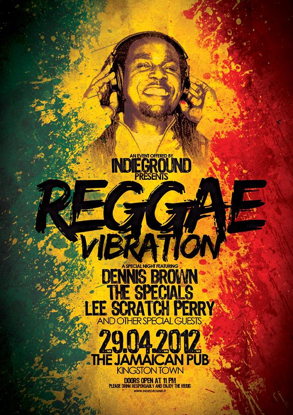 Reggae Poster Template Vol 4 Download Link Graphicriver Flickr