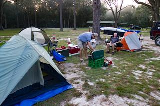 Camping at Traders Hill