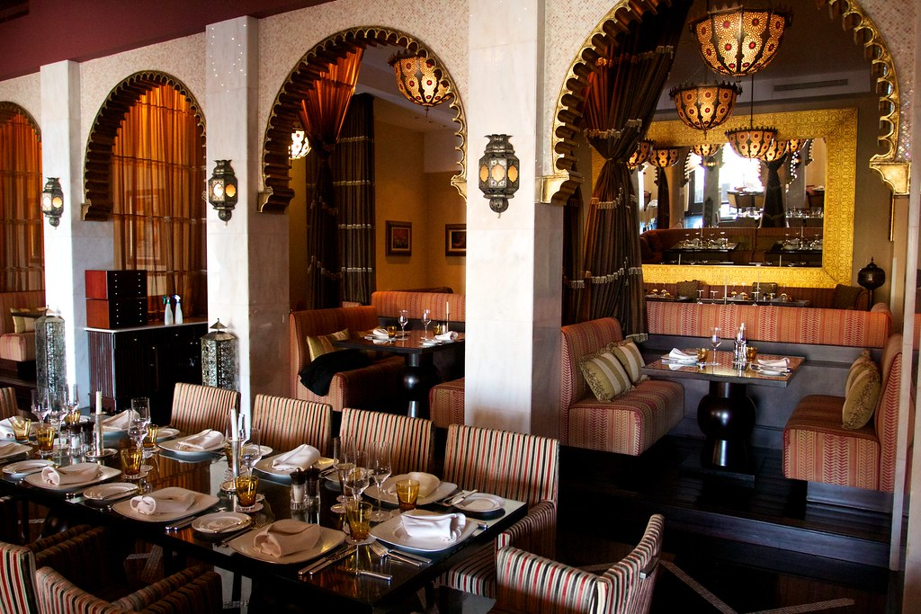 Restaurant A Moroccan Themed Restaurant At The Fabulous