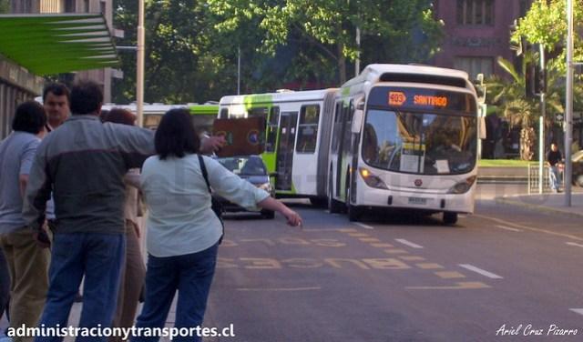 Transantiago 403 | Express | Marcopolo Gran Viale - Volvo B9 SALF / WA9484