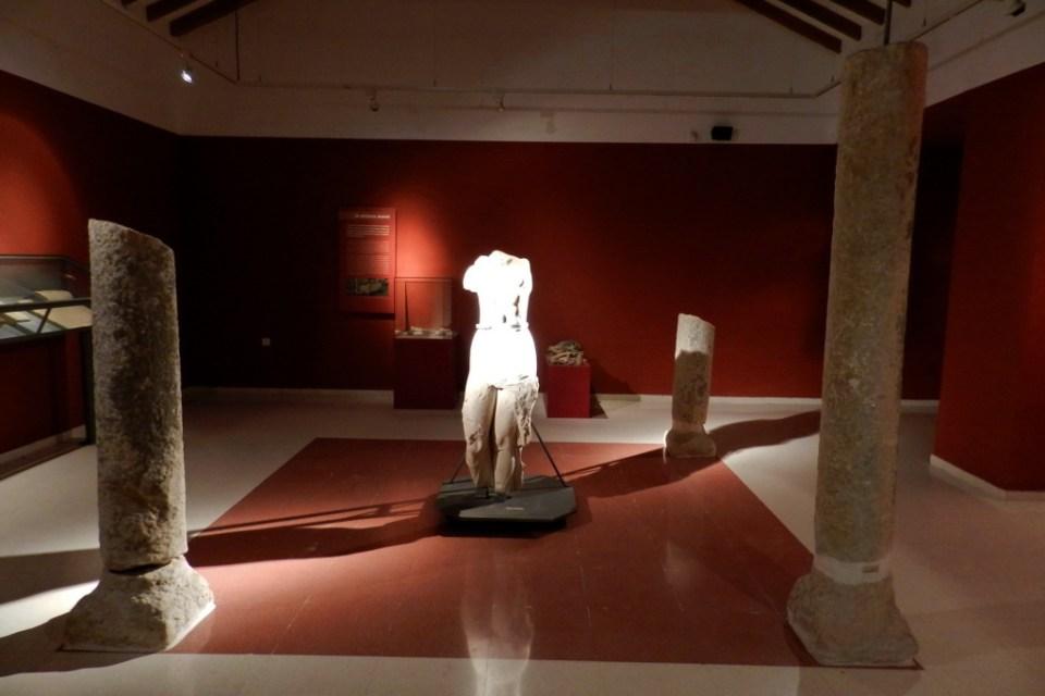 Venus estatua romana Museo de Historia de Fuengirola Malaga 01
