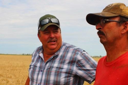 Dad and Farmer Brian.