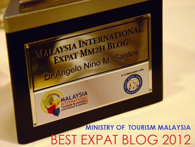 best expat blog 2012 ministry of tourism malaysia