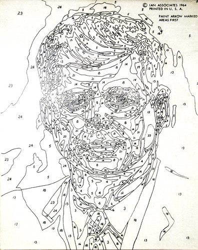 JFK Paint By Numbers Art Without Artists Co Curated By